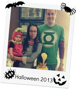family halloween 2013
